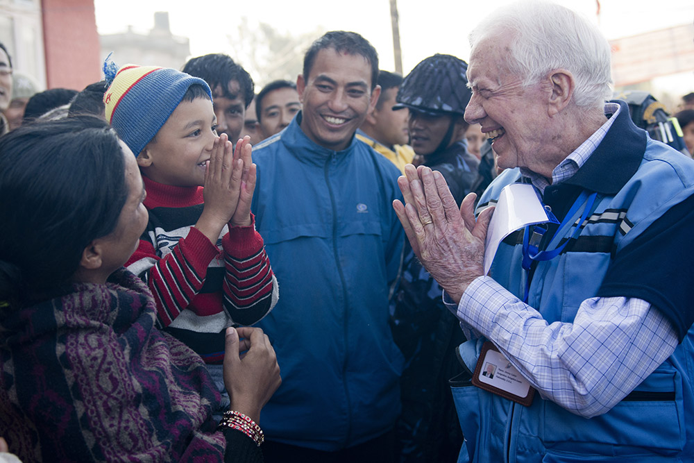 Jimmy Carter Comes to Spiritual Direction